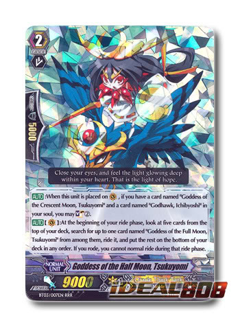 Goddess of the Half Moon, Tsukuyomi - BT03/007EN - RRR