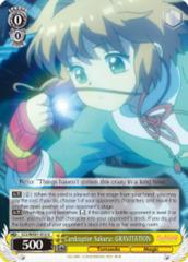 Cardcaptor Sakura: GRAVITATION  [CCS/WX01-012 U (Regular)] English