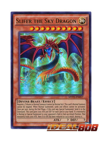 Slifer the Sky Dragon - MVP1-EN057 - Ultra Rare - Unlimited Edition