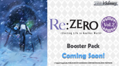 Re:ZERO -Starting Life in Another World- Vol.2 (English) Weiss Schwarz Booster Box * PRE-ORDER Ships Aug.02