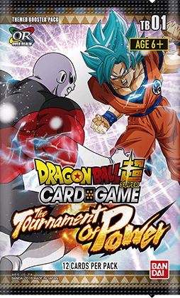 DBS-TB01 The Tournament of Power (English) Dragon Ball Super Themed Booster Pack [12 Cards]