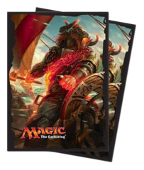 Magic the Gathering Rivals of Ixalan Angrath the Flame-Chained Ultra Pro Sleeve 80ct. (#86652)