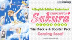 Weiss Schwarz CCS Bundle (A) Bronze - Get x2 Card Captor Sakura: Clear Card Booster Boxes + FREE Bonus Items * PO Ships Feb.22