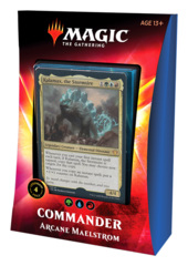 Commander 2020: Ikoria: Deck - Arcane Maelstrom (Blue/Green/Red) feat. Kalamax, the Stormsire