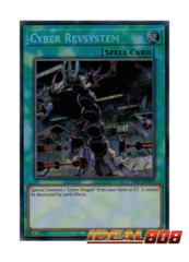 Cyber Revsystem - CYHO-EN059 - Secret Rare - Unlimited Edition