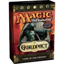 Guildpact Code of the Orzhor Deck