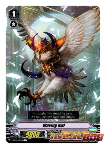 Waving Owl V-EB03//047EN C Cardfight Vanguard Gold Paladin