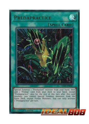 Predapractice - LED5-EN047 - Ultra Rare - 1st Edition
