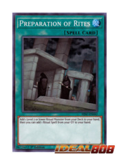 Preparation of Rites - HISU-EN042 - Super Rare - 1st Edition