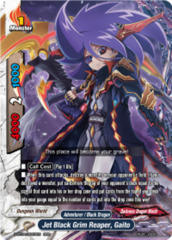 Jet Black Grim Reaper, Gaito [D-BT04/0007EN RRR (FOIL)] English