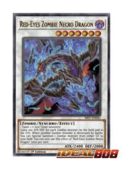 Red-Eyes Zombie Necro Dragon - SR07-EN041 - Ultra Rare - 1st Edition