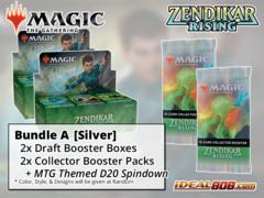 !MTGZNR BUNDLE (A) Silver - Get x2 Zendikar Rising Booster Box + x2 Collector Packs