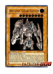 Ancient Gear Golem - TLM-EN006 - Ultimate Rare - 1st Edition