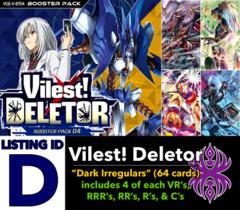 # Vilest! Deletor [V-BT04 ID (D)]