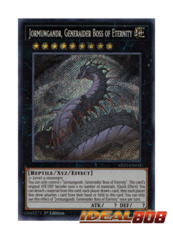 Jormungandr, Generaider Boss of Eternity - MYFI-EN033 - Secret Rare - 1st Edition