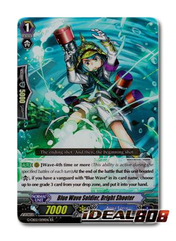 Blue Wave Soldier, Bright Shooter - G-CB02/009EN - RR