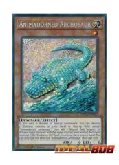 Animadorned Archosaur - ETCO-EN037 - Secret Rare - 1st Edition