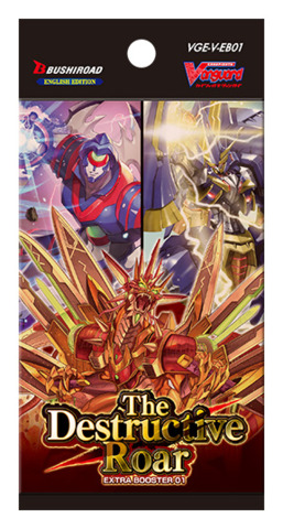 CFV-V-EB01 The Destructive Roar (English) Cardfight Vanguard V-Extra Booster Pack