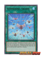Summoning Swarm - BLHR-EN040 - Ultra Rare - 1st Edition