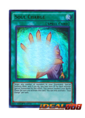 Soul Charge - DRL3-EN051 - Ultra Rare - 1st Edition