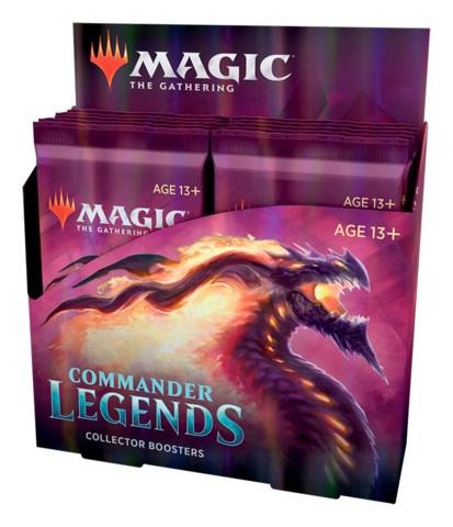 Commander Legends Collector Booster Box [12 Packs]