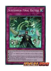 Subterror Final Battle - FIGA-EN050 - Super Rare - 1st Edition