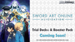 Sword Art Online -Alicization- (English) Weiss Schwarz Trial  Deck+ Box [Contains 6 Decks] * COMING SOON