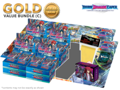 Cardfight Vanguard G-BT09 Bundle (C) Gold - Get x8 Divine Dragon Caper Booster Box + FREE Bonus Items