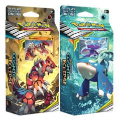 SM Sun & Moon - Cosmic Eclipse (SM12) Pokemon Theme Deck  Set - Groudon & Kyogre