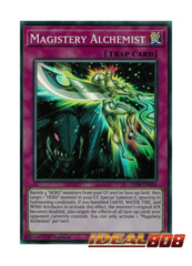 Magistery Alchemist - LED6-EN016 - Super Rare - 1st Edition