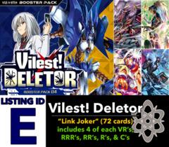 # Vilest! Deletor [V-BT04 ID (E)]