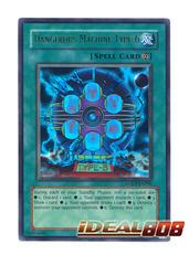 Dangerous Machine Type-6 - LODT-EN096 - Ultra Rare - 1st Edition
