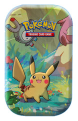 Pokemon Kanto Friends Mini Tin [Pikachu] * PRE-ORDER Ships Mar.15