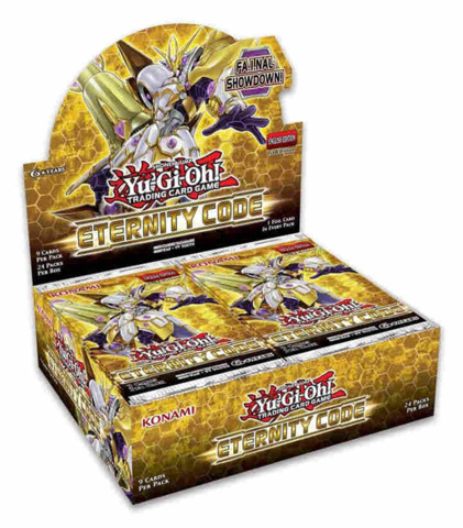 Eternity Code (1st Edition) Yugioh Booster Box [24 Packs] * PRE-ORDER Ships Jun.5