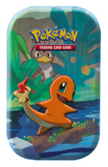 Pokemon Kanto Friends Mini Tin [Charmander] * PRE-ORDER Ships Mar.15