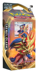 SS Sword & Shield: Rebel Clash (SS02) Pokemon Theme Deck - Zamazenta