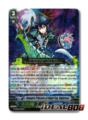 Vampire Princess of Night Fog, Nightrose - G-TD08/004EN - RRR (Foil ver.)
