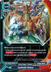 Jackknife History [D-BT03/0108EN C (FOIL)] English
