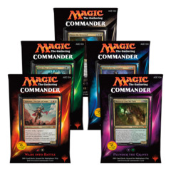 Commander 2015 (C15) - Complete Set of 5