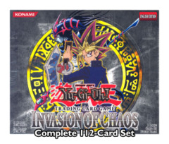 Invasion of Chaos Complete 112-Card Set (1st Edition North American Release)
