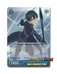 《Black Swordsman》 Kirito [SAO/S20-E077R RRR (Foil)] English