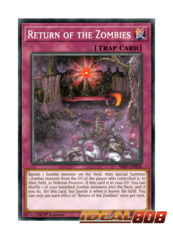 Return of the Zombies - SR07-EN034 - Common - 1st Edition