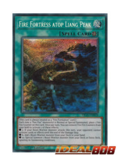 Fire Fortress atop Liang Peak - FIGA-EN018 - Secret Rare - 1st Edition