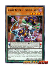 Abyss Actor - Leading Lady - LED3-EN051 - Common - 1st Edition