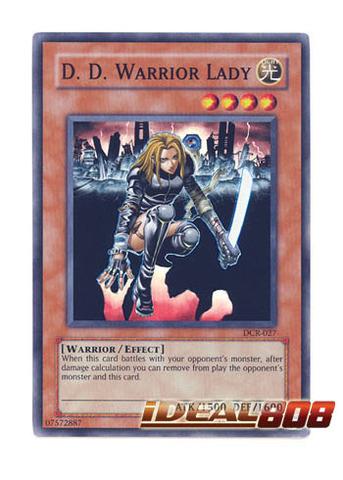 WARRIOR LADY DCR-027 UNLIMITED YU-GI-OH 2OO3 D D