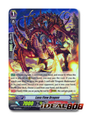 Lava Flow Dragon - PR/0170EN - PR Stamped