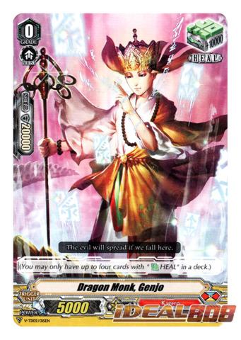 Dragon Monk, Genjo - V-TD02/015EN (Regular)