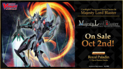 !CFV-V-SS04 Majesty Lord Blaster Deck (Boxless) [54-Cards (50-card Deck + 3 GM's + 1 QS card)] * PRE-ORDER Ships Oct.02