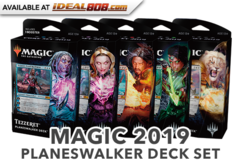 Core Set 2019 (M19) Planeswalker Deck Set [5 total]