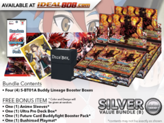 BFE-S-BT01A  Bundle (B) Silver - Get x4 Buddy Lineage Ace Alt Booster Box + FREE Bonus Items